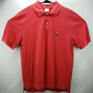 Brooks Brothers 346 Mens Soft Cotton Polo Medium